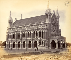 Convocation Hall of the University, Bombay.